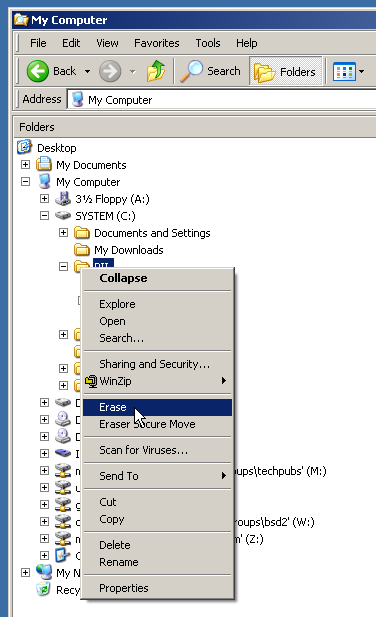 Sourceforge Eraser